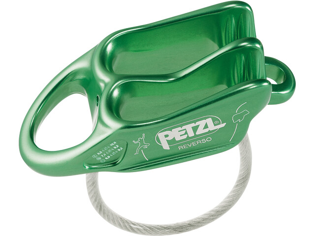 Petzl Reverso Belay Device green